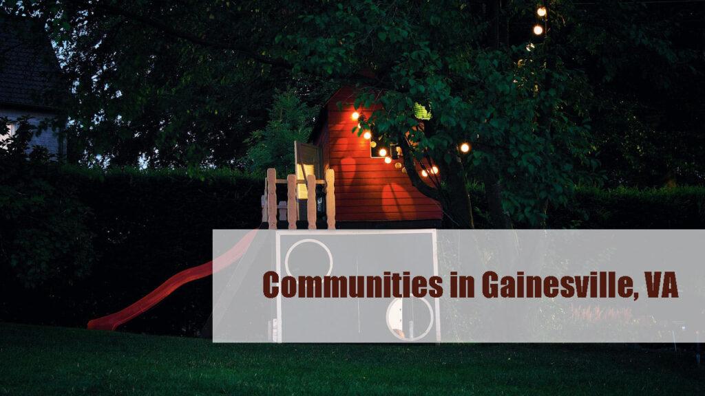 Communities in Gainesville, VA